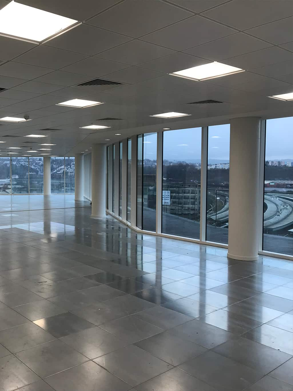 Glass Wharf Interior